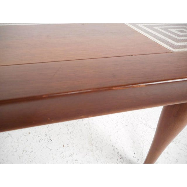 Mid-Century Modern Tile-Tip Pivot Coffee Table For Sale - Image 9 of 11
