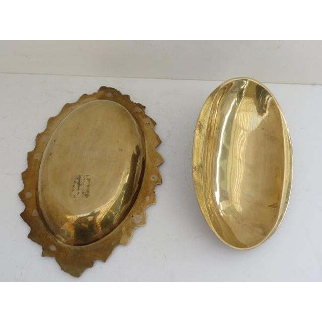 Mid-Century Brass Ram Vessel - Image 5 of 7