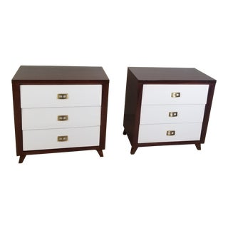 Pair of Modern Chest of Drawers For Sale