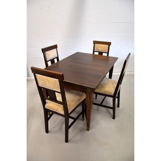 Art Nouveau Dining Set For Sale - Image 13 of 13