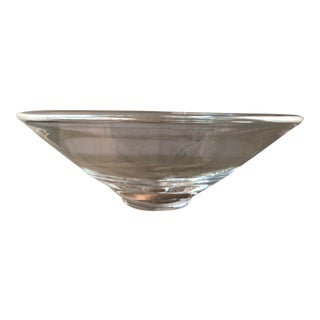 Stuben Round Glass Bowl For Sale
