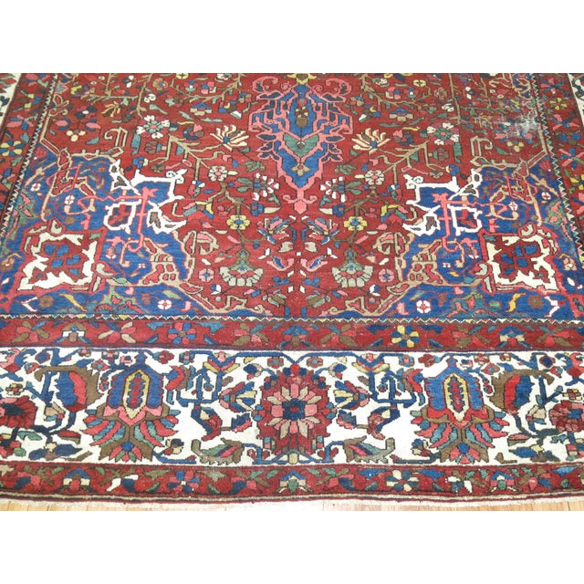 Antique Persian Bakhtiari Rug - 12'3'' X 18'2'' - Image 5 of 9