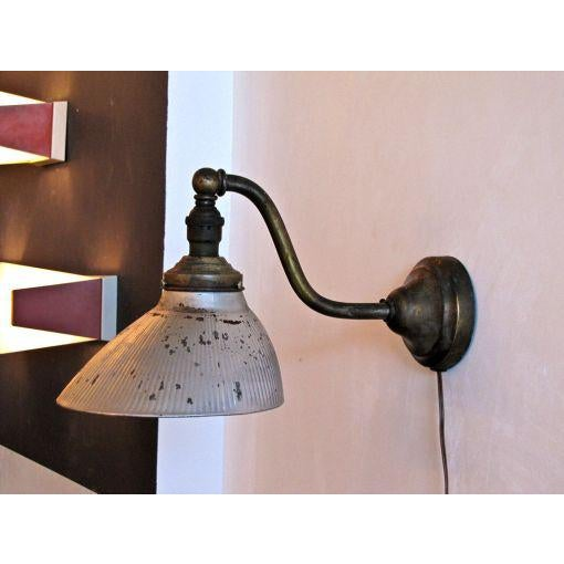 Early 20th Century Mercury Glass Wall Light For Sale - Image 5 of 10