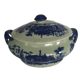 Victoria Ware Ironstone Tureen With Lid For Sale