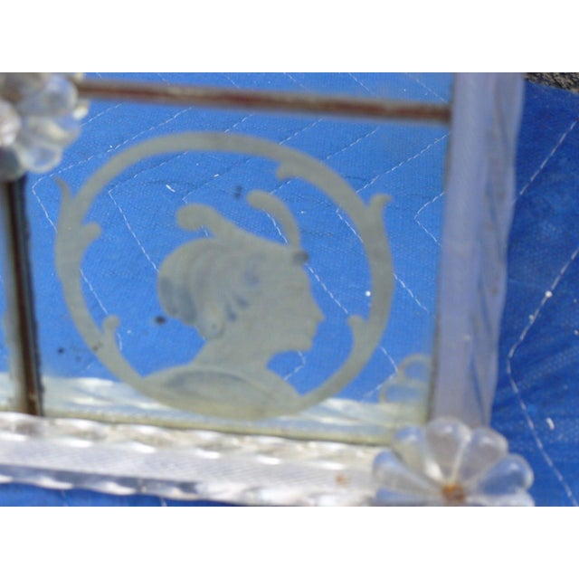 Early 20th C Venetian Animals and Figures Mirror For Sale - Image 4 of 10