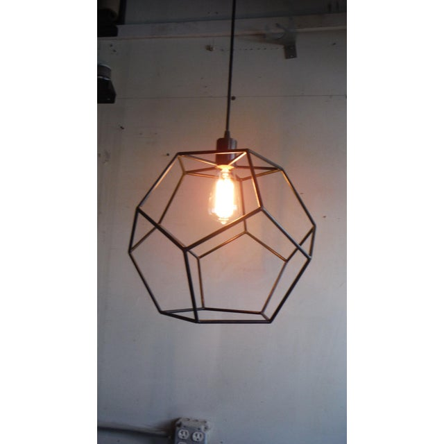 Modern Isocahedron Pendant For Sale - Image 3 of 5