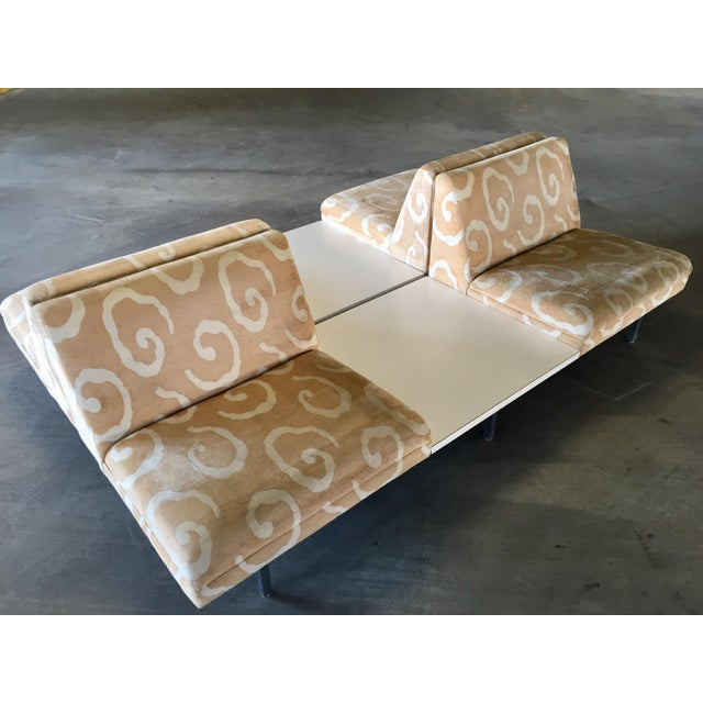 George Nelson Herman Miller Sofas With Center Tables - A Pair - Image 4 of 11