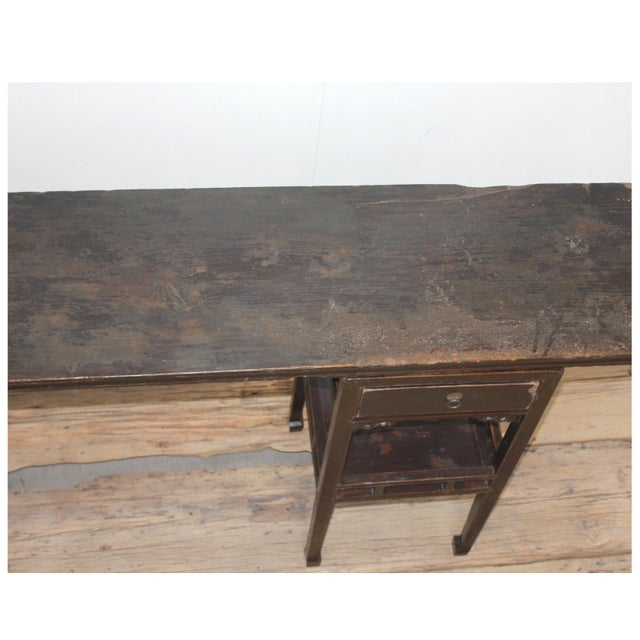 Traditional Sarreid Ltd Antique Ming Style Console Table For Sale - Image 3 of 5