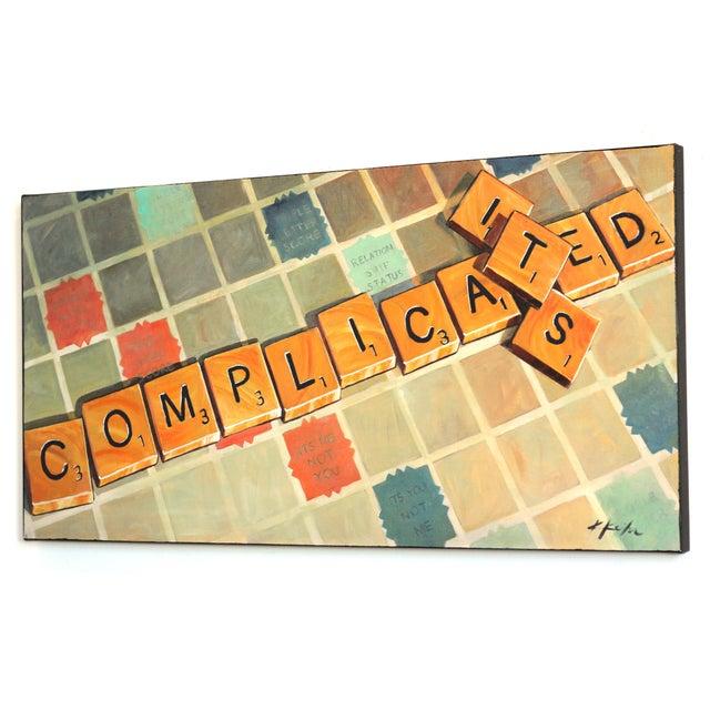 """It's Complicated"" Original Artwork by Kathleen Keifer For Sale In Los Angeles - Image 6 of 9"