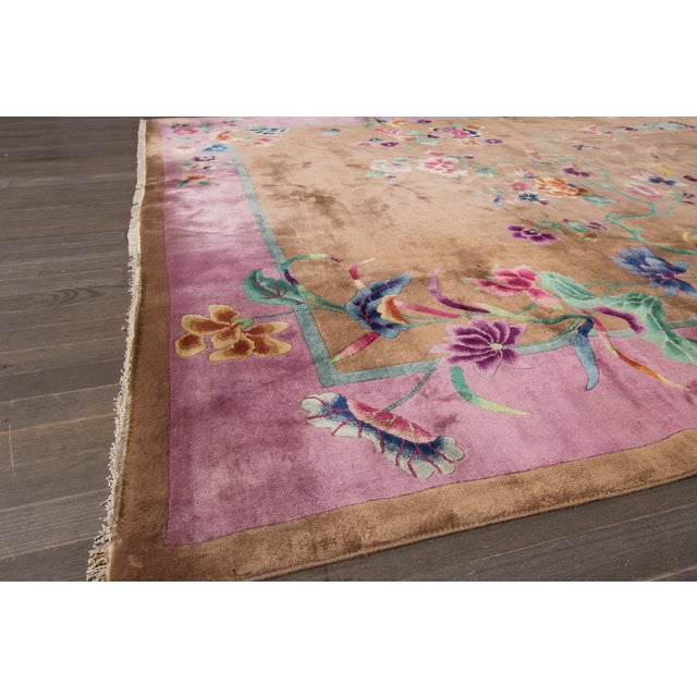 "Apadana Beige Chinese Art Deco Rug - 8'9"" X 11'6"" - Image 6 of 6"