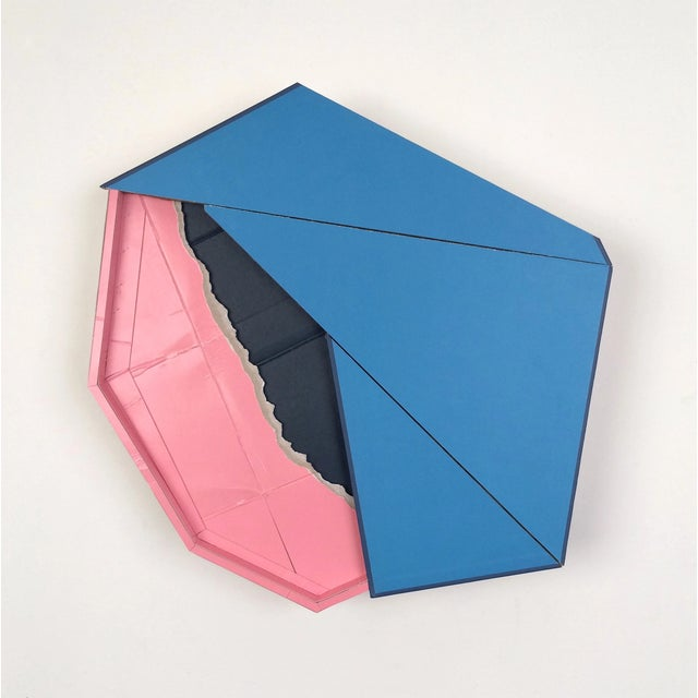 """Ryan Sarah Murphy """"Surface Find"""" Found (unpainted) cardboard, cut book cover, foamcore 15 x 3 x 6 in. """"My creative..."""