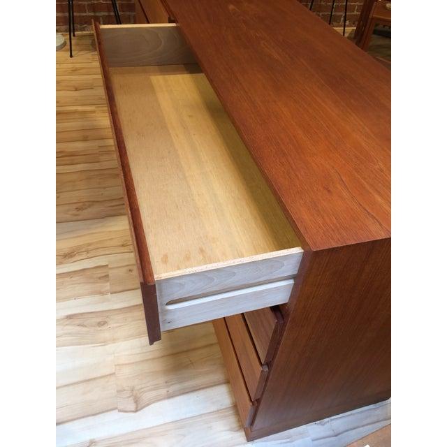 Mid Century Danish Modern Teak Dresser - Image 4 of 7