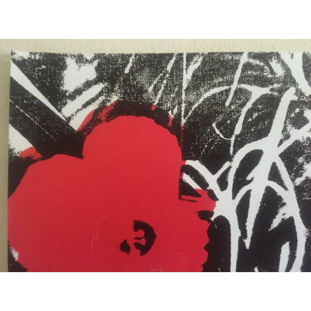 """Andy Warhol Foundation Vintage Pop Art Poster Print """" Flowers """" 1964 / 1967 For Sale - Image 10 of 13"""