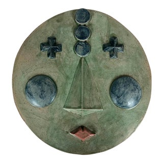 2020 Contemporary Ceramic Wall Hanging 'Suri' by Keavy Murphree For Sale