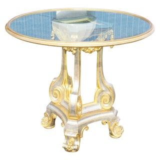 Directoire Style Gilt Painted & Mirrored For Sale