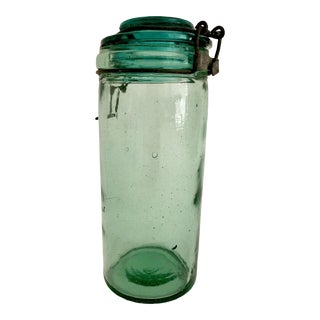 1930s French L' Ideale Canning Jar For Sale