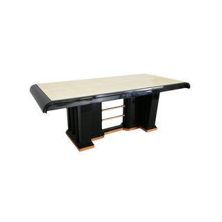 Aldo Tura Table in Parchment 60s For Sale