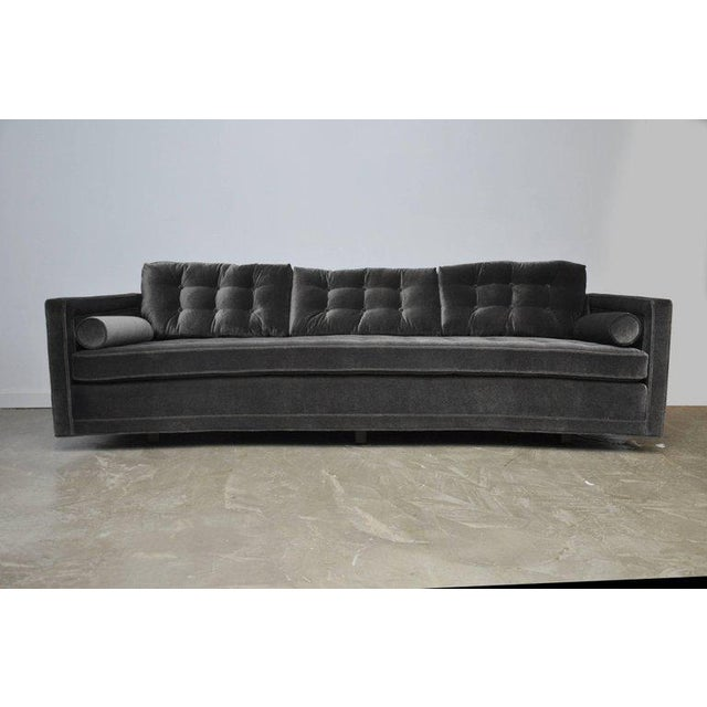 Textile Harvey Probber Curved Sofa For Sale - Image 7 of 7