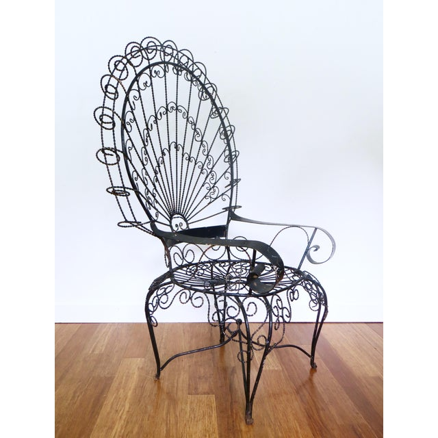 Bend Goods Peacock Lounge Chair In Black Peacockchair T