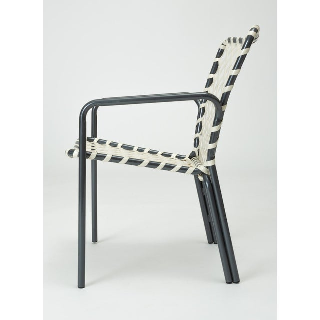 1950s Set of Eight Patio Dining Chairs by Ames Aire For Sale - Image 5 of 9
