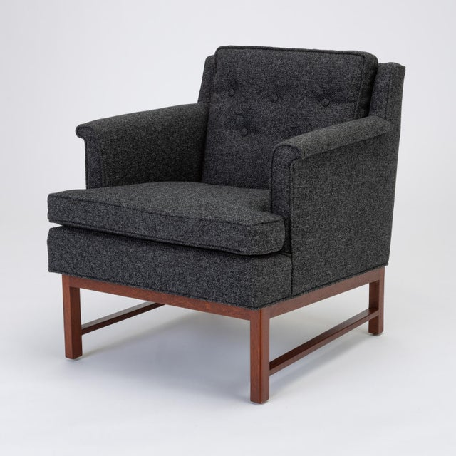 Pair of Petite Lounge Chairs by Edward Wormley for Dunbar For Sale In Los Angeles - Image 6 of 13