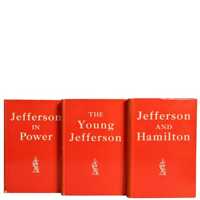Thomas Jefferson, S/3 by Claude G. Bowers. Boston: Houghton Mifflin Company, 1925. 3 vols. 1612 pages. Hardcover with dust...