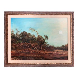 After the Rain Everglades Oil Painting on Canvas by Artist Bernie Habicht For Sale