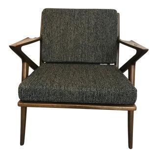 Vintage Danish 'Z' Chair, 1960s