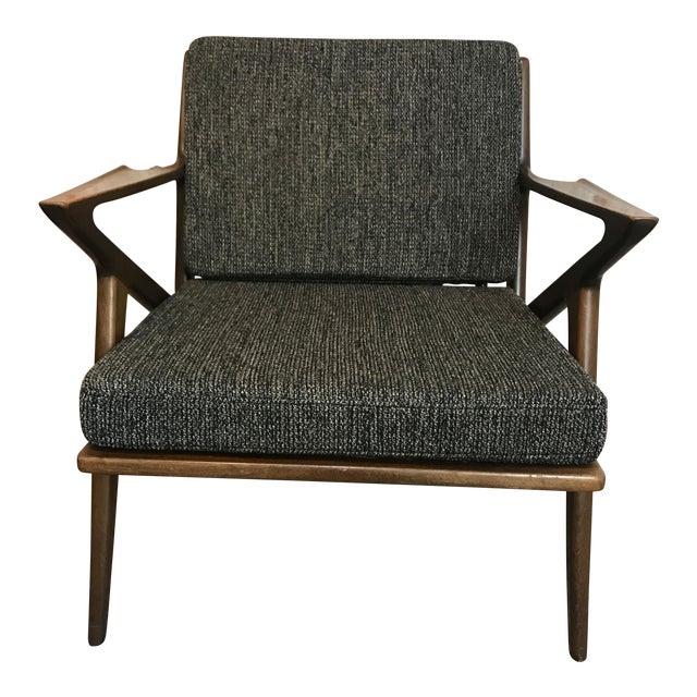 Vintage Danish 'Z' Chair, 1960s For Sale