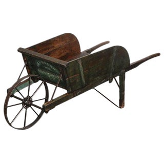 New England Painted Wheelbarrow For Sale