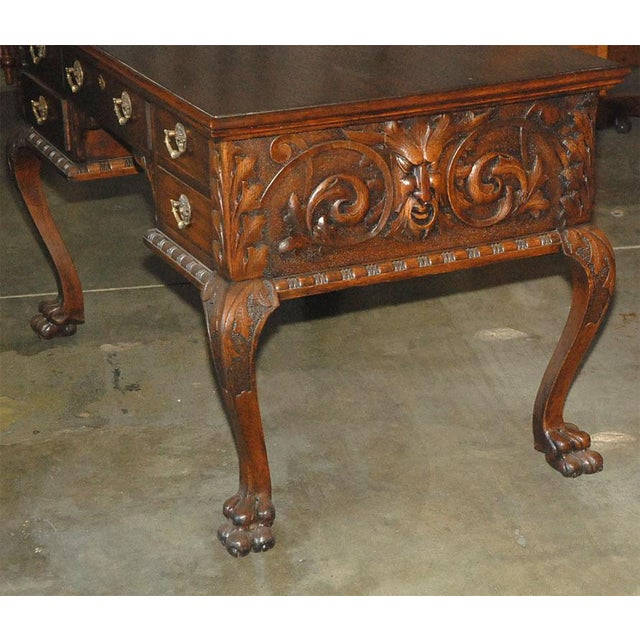Mid 19th Century Ladies Partners Desk For Sale - Image 5 of 9