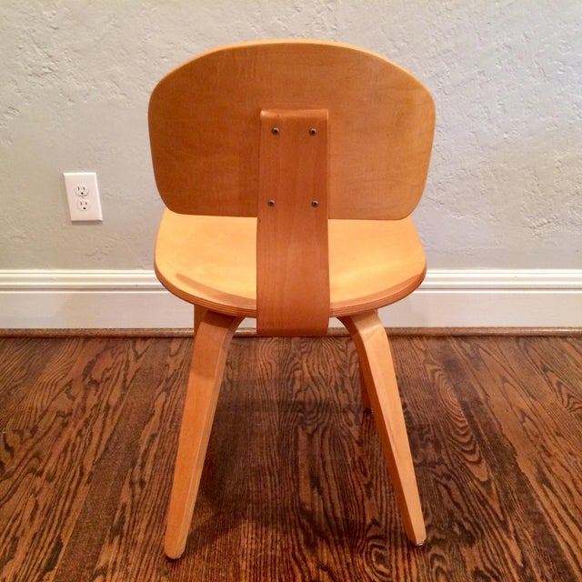 Thonet Vintage Thonet Mid Century Style Plywood Chairs- Set of 12 For Sale - Image 4 of 8