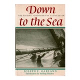 """Image of 1983 """"Down to the Sea"""" Coffee Table Book For Sale"""