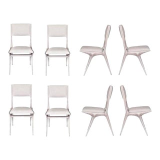 Set of Eight Boone Dining Chairs For Sale