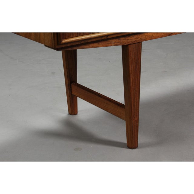 1950s Danish Modern Ew Bach for Sejling Skabe Rosewood Sideboard For Sale - Image 9 of 11