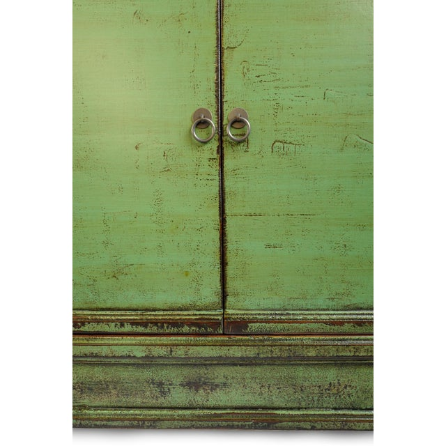 Fern Green Sideboard For Sale In Los Angeles - Image 6 of 8