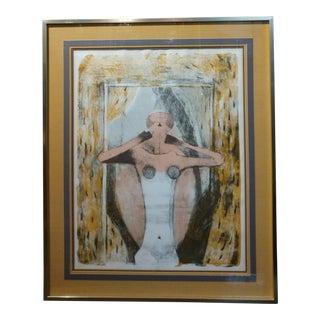 "Rufino Tamayo ""Female Torso"" Limited Edition Lithograph, Pencil Signed For Sale"