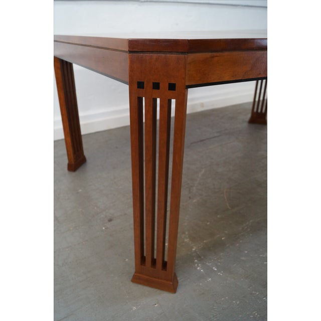 Stickley 21st Century Arts & Crafts Dining Table - Image 3 of 10