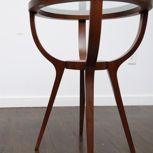 1960s Jlindrich Halabala Style Side Table For Sale - Image 5 of 7