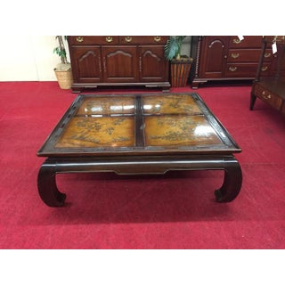 Vintage Asian Modern Bernhardt Large Coffee Table Preview