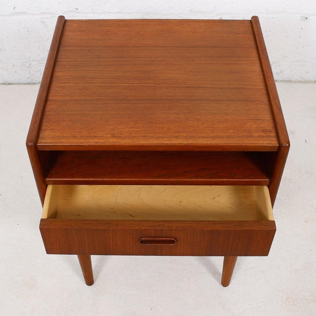 Teak Danish Modern End Tables by Falster - Pair - Image 5 of 6