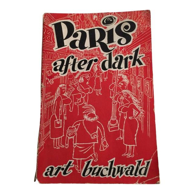 1950s 'Paris After Dark' Guidebook For Sale