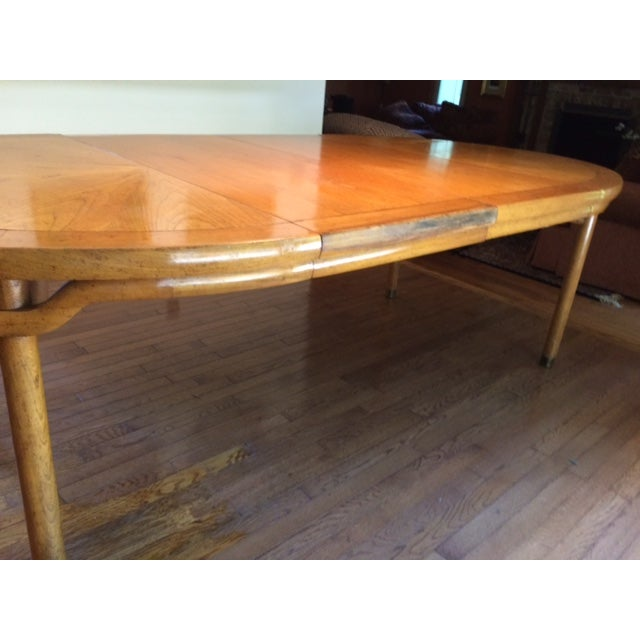 Baker Asian-Style Canadian Elm Table - Image 6 of 6
