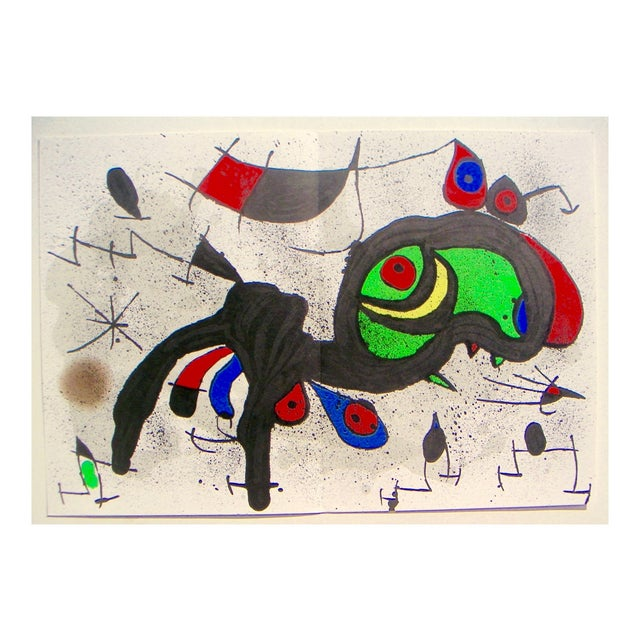 Miró Ram Original Color Lithograph - Image 1 of 3
