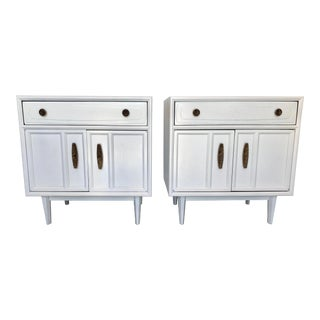 Mid Century Modern Heritage Night Stands- A Pair For Sale