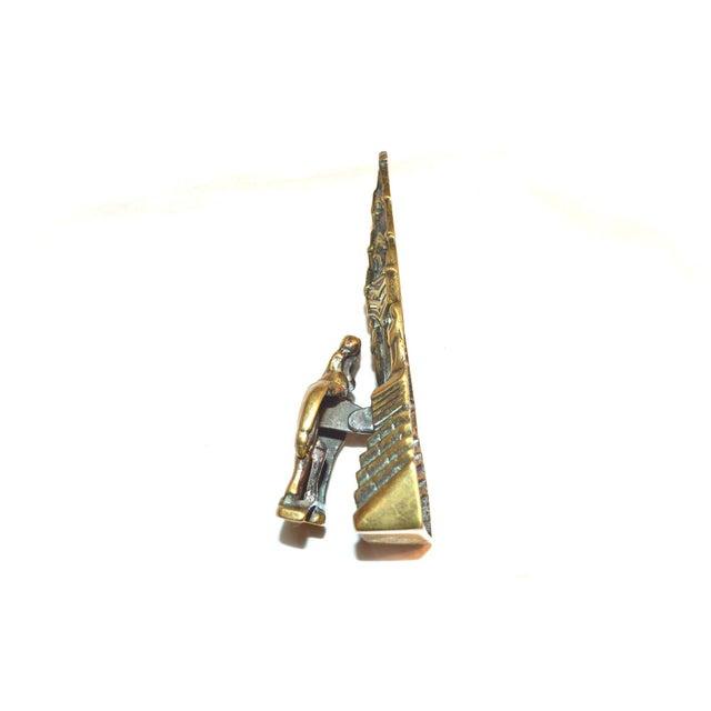 Traditional Ireland's St. Brigid Door Knocker For Sale - Image 3 of 9