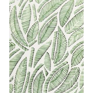 Serena & Lily Fallbrook Cut Leaf Wallpaper For Sale