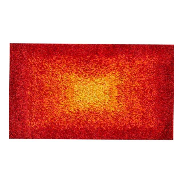 """Karastan Scantic Radiant Area Rug 36"""" x 59"""" with Original Label For Sale"""