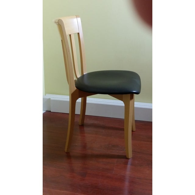 Potocco Modern Italian Dining Chairs - Set of 6 - Image 6 of 7