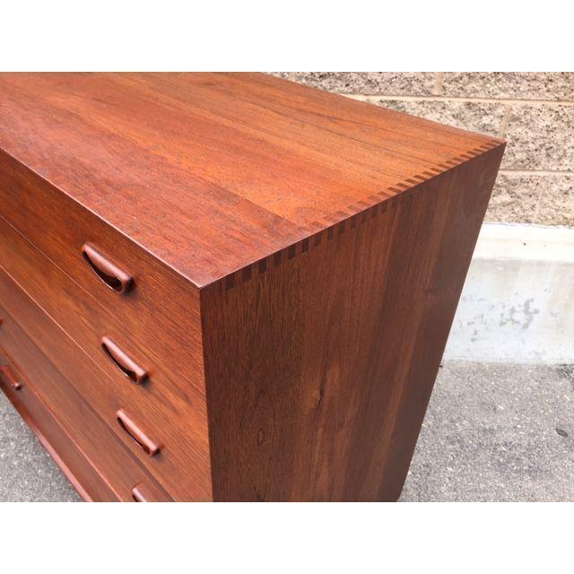 Peter Hvidt Danish Modern Dresser - Image 4 of 6